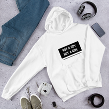 Load image into Gallery viewer, Not A Boy Not A Girl Enby Hoodie | ThisIsTheirs