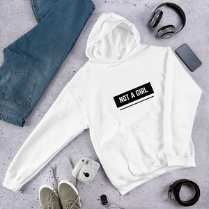 Not A Girl Gender Affirming Hoodie | ThisIsTheirs