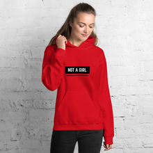 Load image into Gallery viewer, Not A Girl Trans Hoodie | ThisIsTheirs