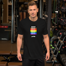 Load image into Gallery viewer, Queer Pride T-Shirt Black