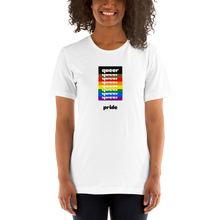 Load image into Gallery viewer, Queer Pride T-Shirt White