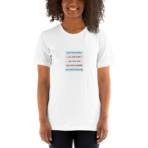You Are Real Trans Self-Love T-Shirt