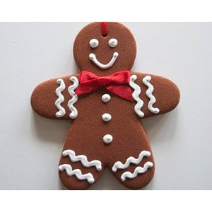 "Retired--Vintage Cinnamon ""Gingerbread"" Man (Large)--Limited Quantaties"