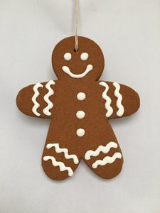 "Holiday Cinnamon ""Gingerbread"" Man (Large)--Classic"