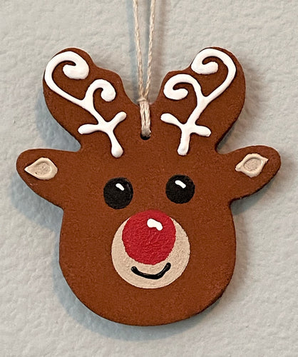 Red-Nosed Cinnamon Reindeer