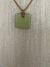 Load image into Gallery viewer, Earth Tones and Antique Gold 1 Inch Tile Pendant