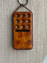 Load image into Gallery viewer, Metallic and Earth Tone Domino Pendant
