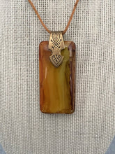 Load image into Gallery viewer, Wood Grain Domino Pendant