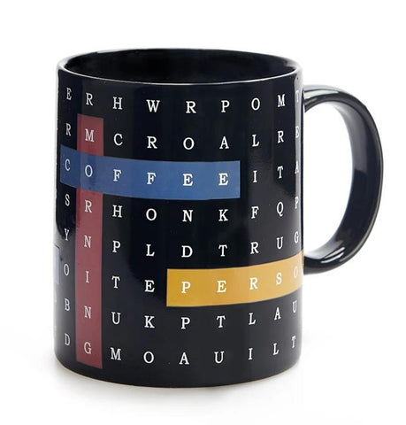 Taza Sopa de letras Cambia color - Shop 987