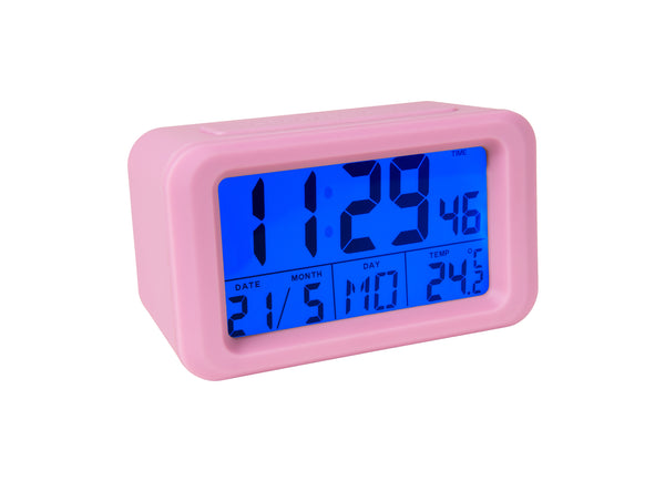 Reloj Despertador digital rosa - Shop 987