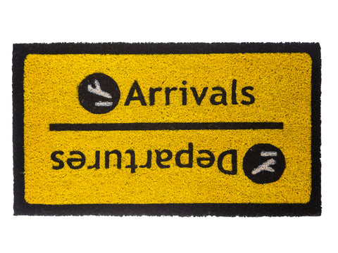 Felpudo Arrivals - Departures - Shop 987
