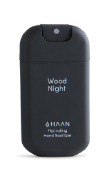 Gel manos Haan - Wood night - Negro