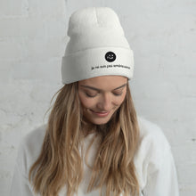 Load image into Gallery viewer, i'm not american | beanie | french ♀