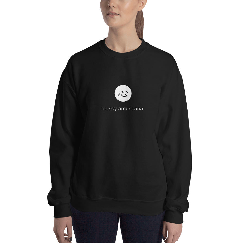 i'm not american | sweatshirt | spanish ♀