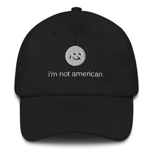 i'm not american | peak | english