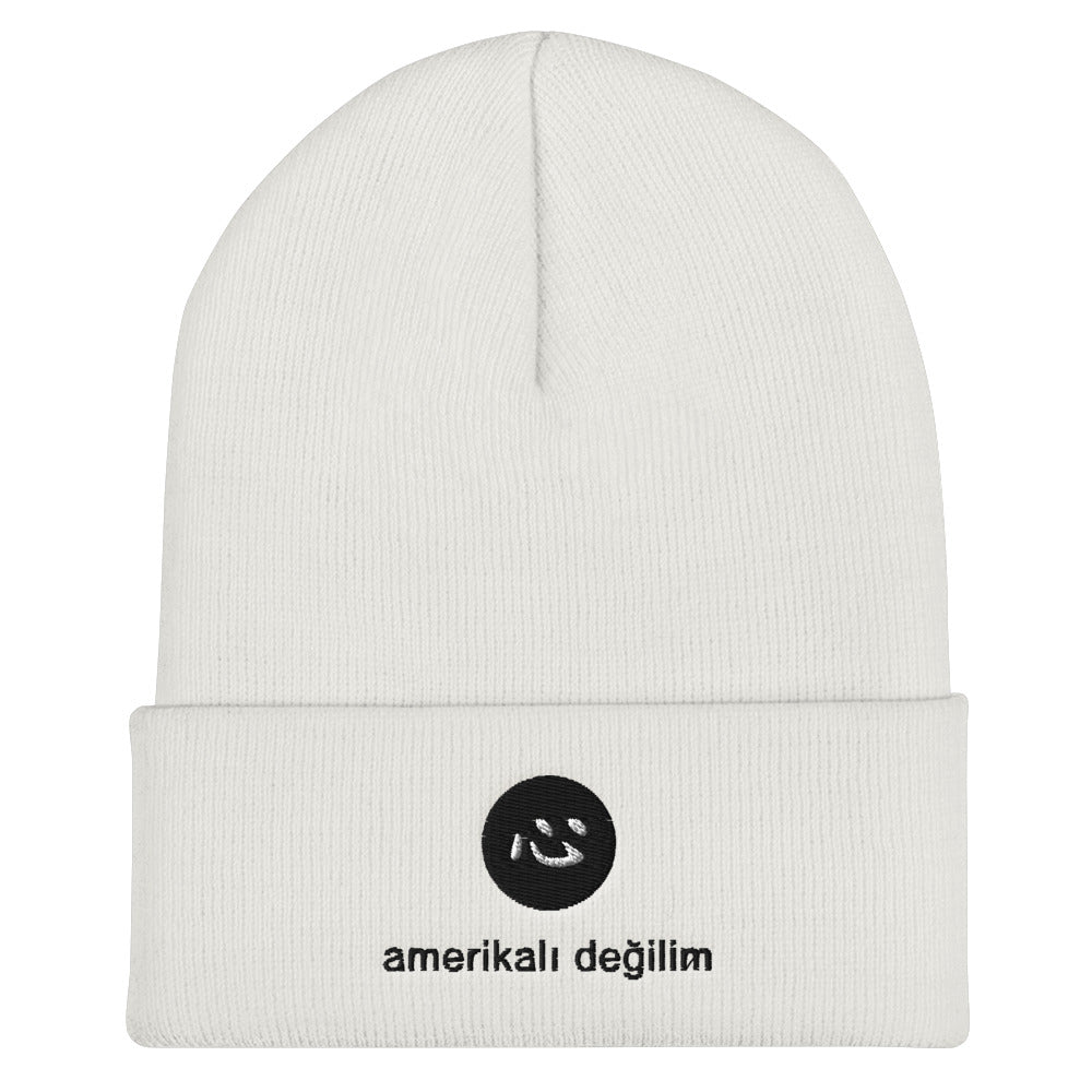 i'm not american | beanie | turkish