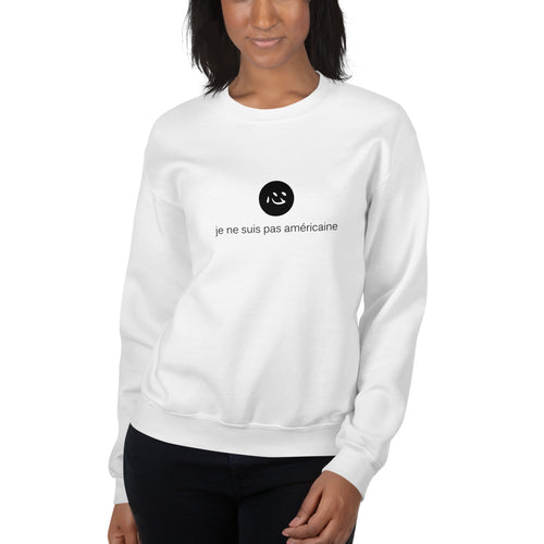 i'm not american | sweatshirt | french ♀