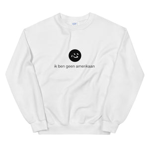 i'm not american | sweatshirt | dutch