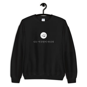i'm not american | sweatshirt | korean