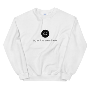 i'm not american | sweatshirt | danish