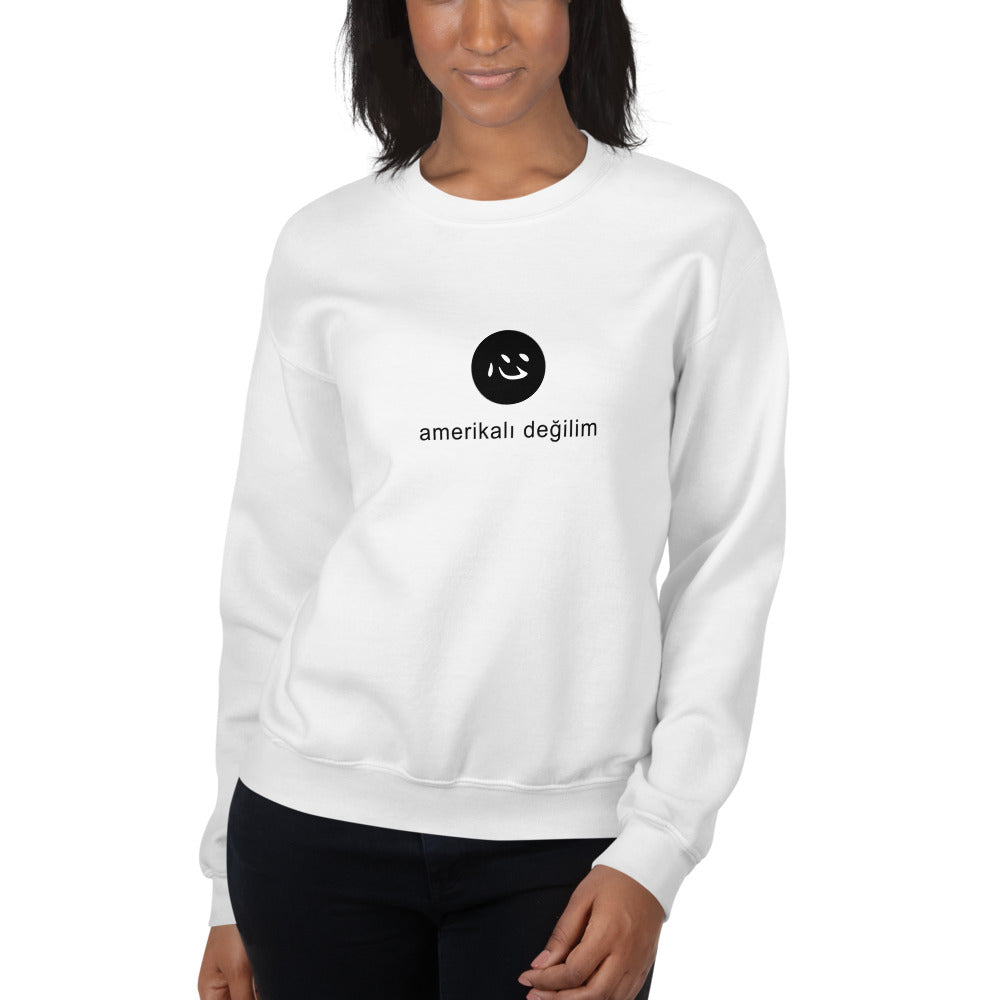 i'm not american | sweatshirt | turkish