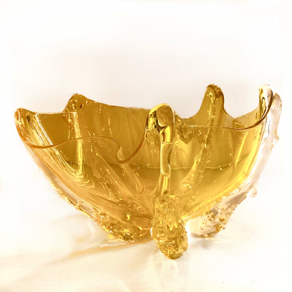 Brilliant Gold Octo Bowl