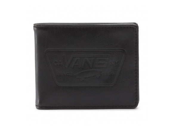 VANS - FULL PATCH BIFOLD WALLET - BLACK