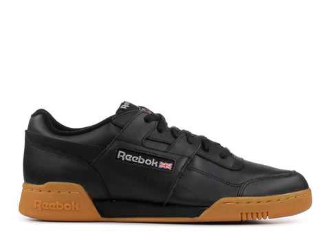 REEBOK CLASSICS - WORKOUT PLUS - BLACK / CARBON / RED / ROYAL