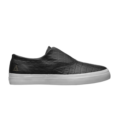 HUF - DYLAN SLIP ON - BLACK / BLACK
