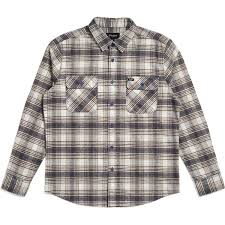 BRIXTON - BOWERY FLANNEL - TWILIGHT BLUE