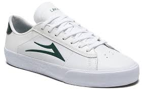 LAKAI - NEWPORT - WHITE / PINE LEATHER