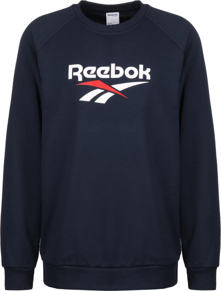 REEBOK CLASSICS - VECTOR CREW SWEATSHIRT - NAVY / WHITE / RED