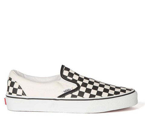 VANS - CLASSIC SLIP-ON - BLACK / WHITE CHECKERBOARD