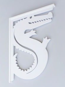 Alligator Decorative Bracket