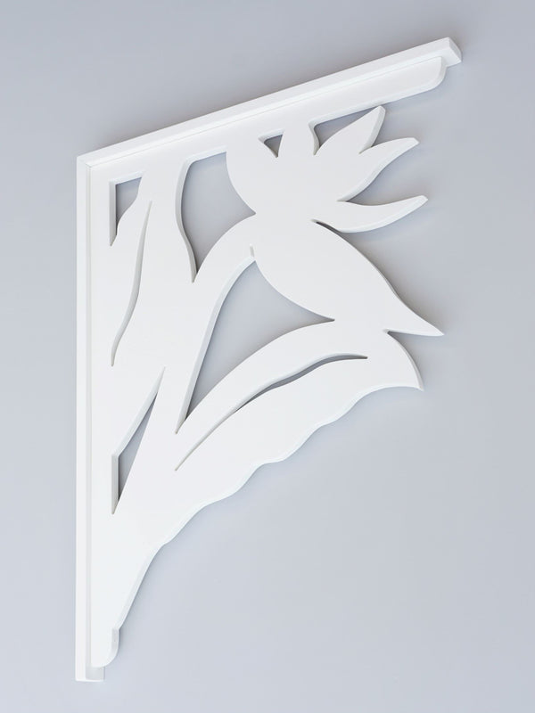 Bird of Paradise Decorative Bracket