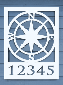 Compass House Plaque