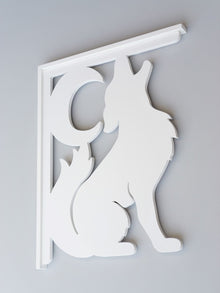 Coyote Decorative  Bracket