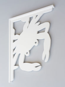 Blue Crab Decorative Bracket
