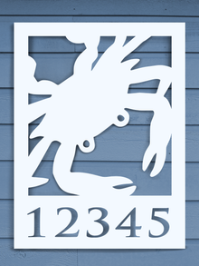 Blue Crab House Plaque
