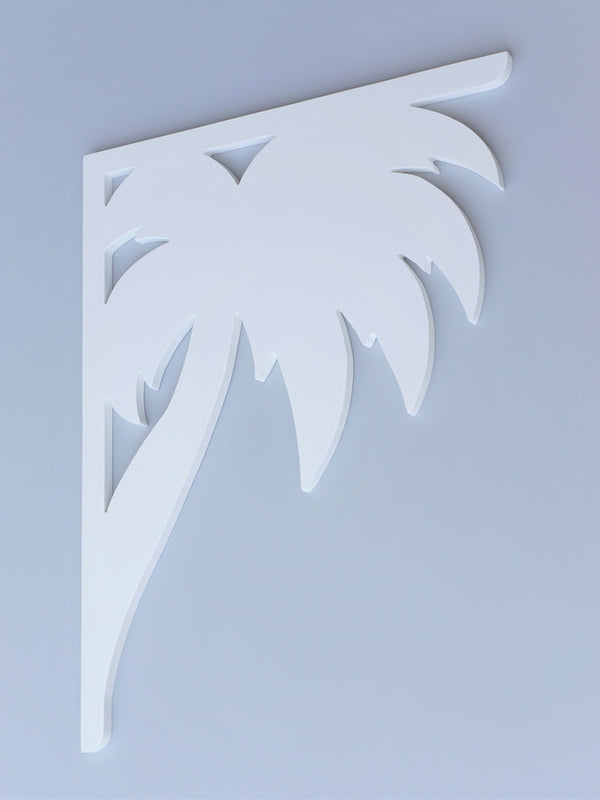 Palm Tree Decorative Bracket-Nature Brackets