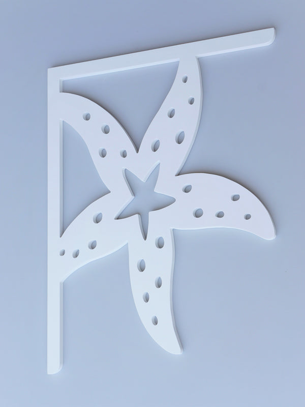 Starfish Decorative Bracket-Nature Brackets