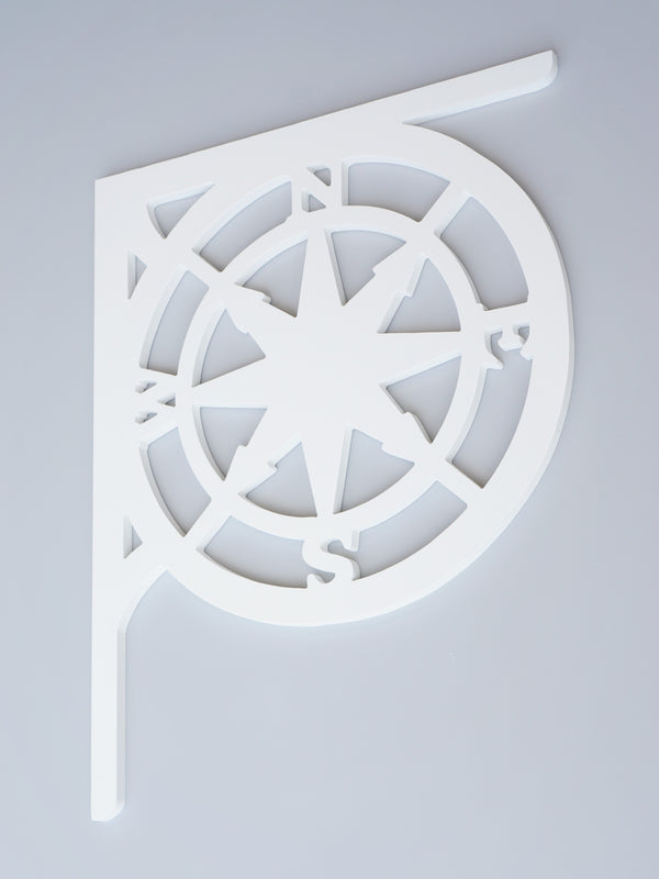 Compass Rose Decorative Bracket