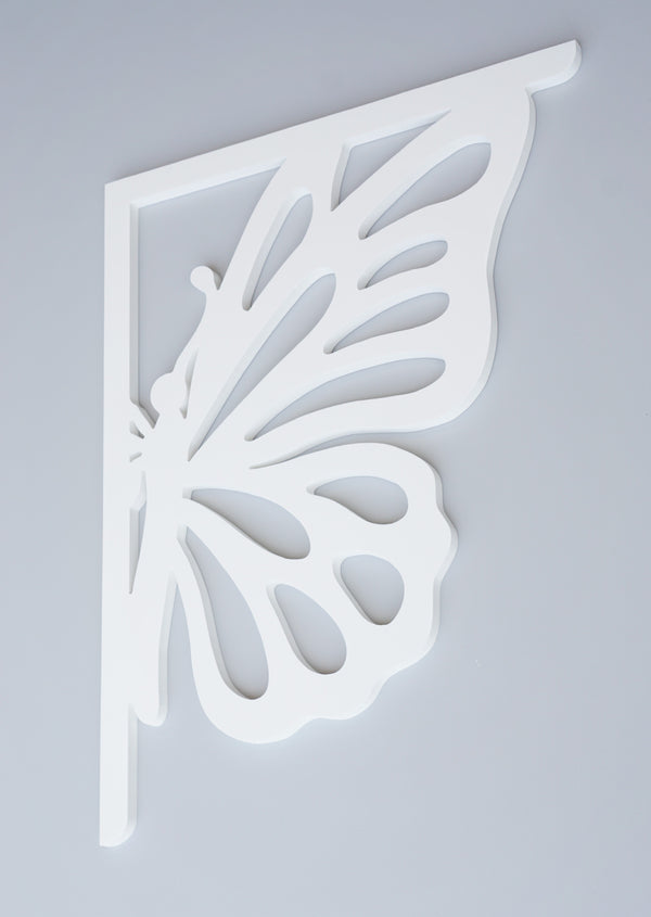 Monarch Butterfly Decorative Bracket-Nature Brackets