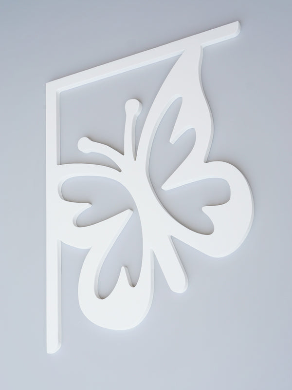 Queen Butterfly Decorative Bracket