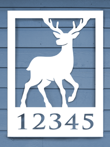 Deer House Plaque