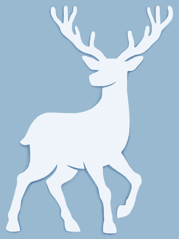 Deer Wall Art-Nature Brackets