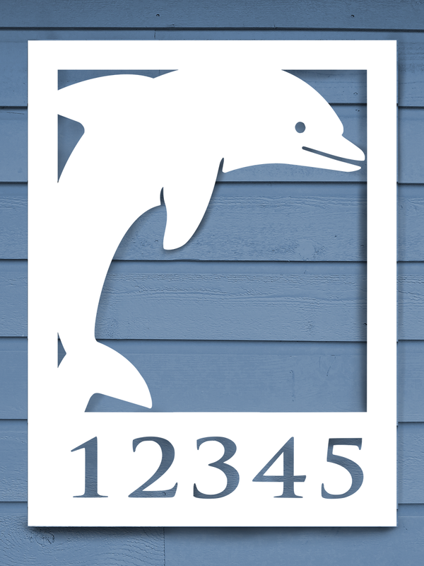 Dolphin House Plaque-Nature Brackets