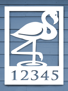 Flamingo House Plaque