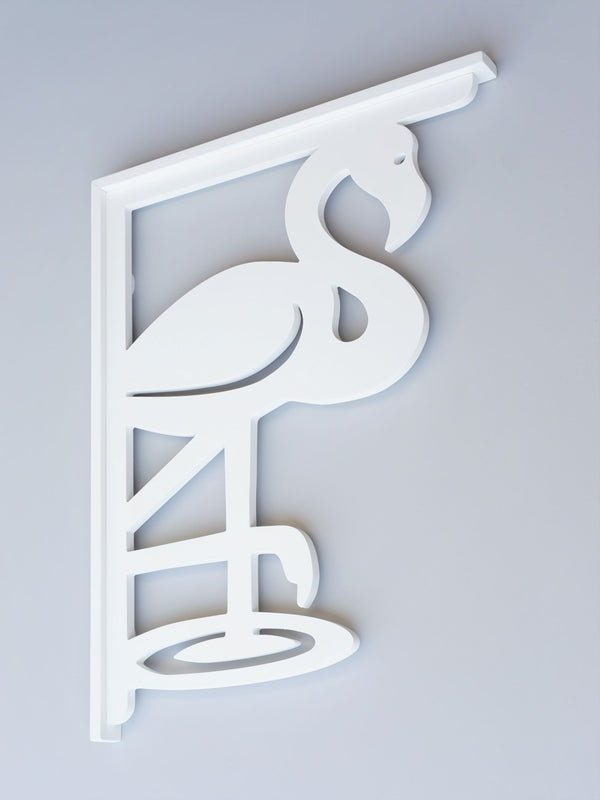 Flamingo Decorative Bracket