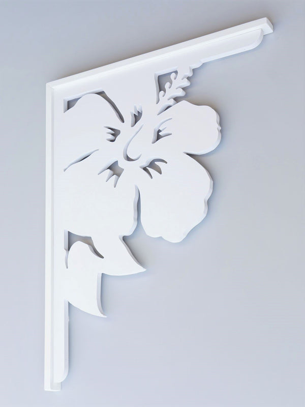 Hibiscus Decorative Bracket